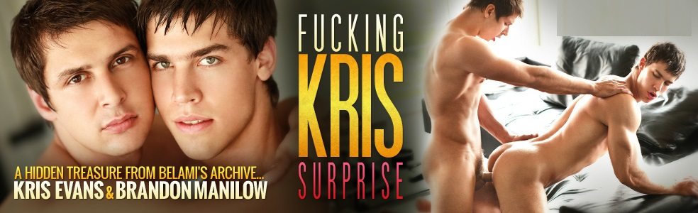 Brandon Manilow and Kris Evans
