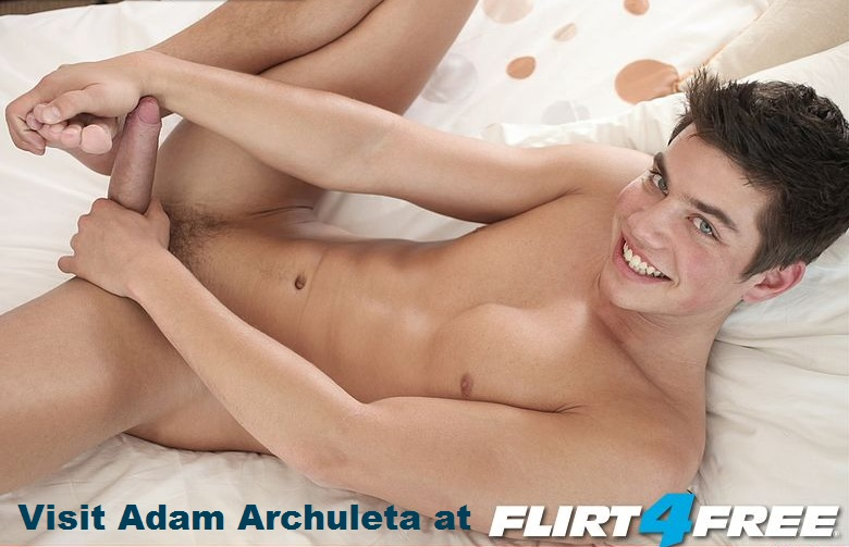 Adam Archuleta on Webcam