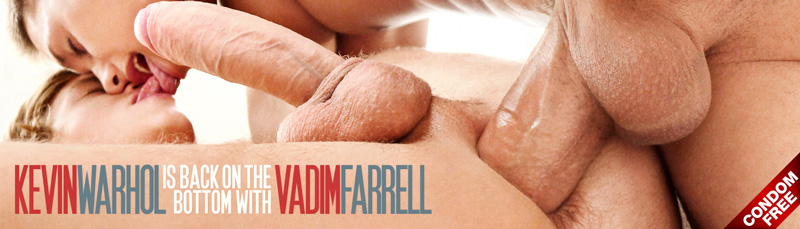 Vadim Farrell and Kevin Warhol