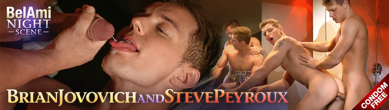 Brian Jovovich and Steve Peyroux